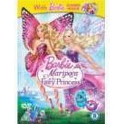 Barbie Mariposa & The Fairy Princess [With Barbie Charm] (DVD)